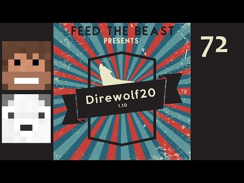 Direwolf20 1.10, Episode 72 -