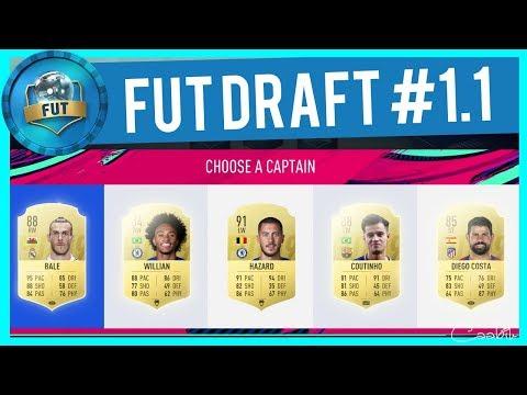 PRVNÍ FUT DRAFT VE FIFA 19! | FUT DRAFT CZ