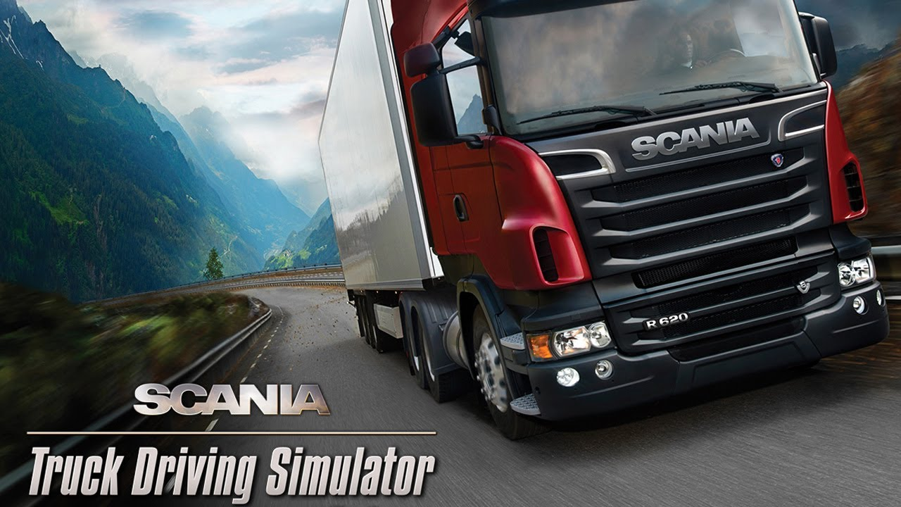 dangerous beauty road scania truck driving simulator pc. Black Bedroom Furniture Sets. Home Design Ideas