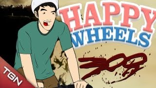 Happy Wheels: 300 ¡¡¡AU, AU, AU!!!