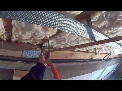 Poddasze. Ocieplenie dachu i zabudowa g/k cz 6 E1/3 wełna pod krokwiami.