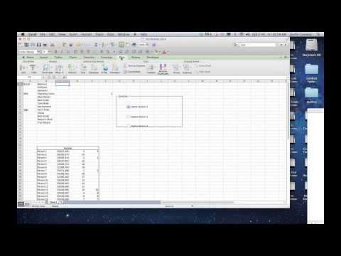 How to Make a Submenu for Excel : Microsoft Excel Tips