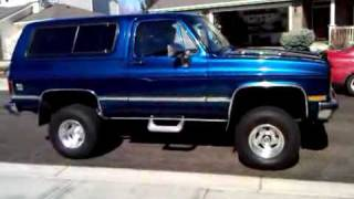 1987 Chevy K5 Silverado Blazer For Sale