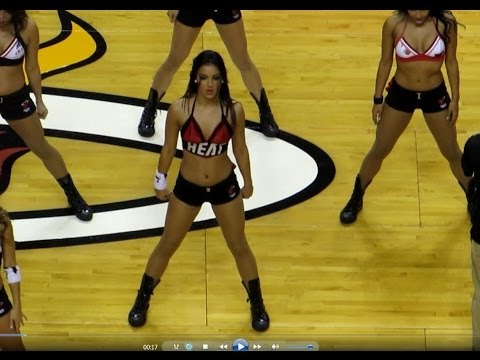 Miami Heat Dancer Jennifer Valdes 1.7.14