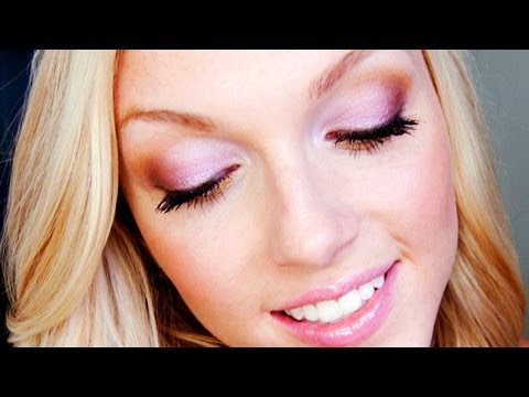 Pink & Gold Summer Makeup Tutorial