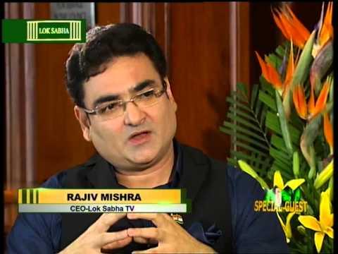 Rajiv Mishra, CEO Loksabha TV on his talk show Special Guest with Mr. Sher Bahadur Deuba Part I