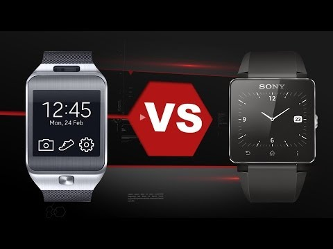 Samsung Gear 2 Vs. Sony Smartwatch 2