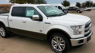 First All New 2015 Ford F150 King Ranch 4x4