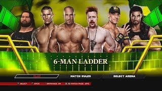 WWE 2K14 Ladder Match For The WWE World Heavyweight