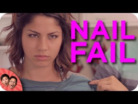 NAIL FAIL | Epic Overreactions ft Matthias & Megan Batoon