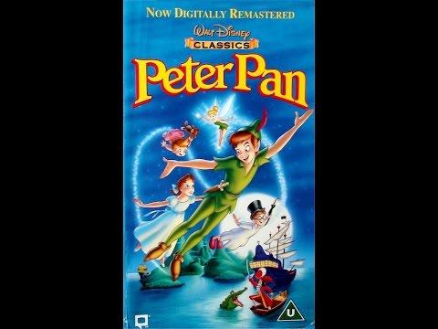 Digitized opening to Peter Pan (UK VHS 1998)