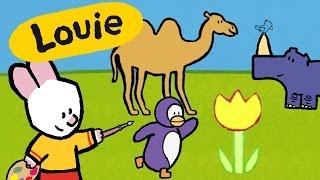 Matýsek a Jaja - Ťava, nosorožec, tučniak a kvet