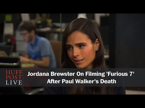 Jordana Brewster On Filming 'Furious 7' After Paul Walker's Death