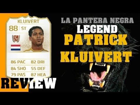 FIFA 14 - PATRICK KLUIVERT LEGEND REVIEW
