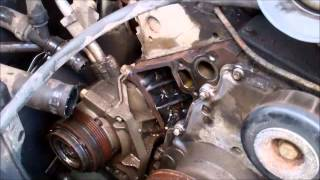 Water Pump Replacement 2003 Z71 Chevy Tahoe