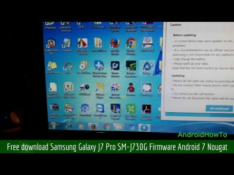 Free download Samsung Galaxy J7 Pro SM-J730G Firmware Android 7 Nougat