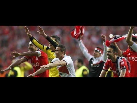 Benfica 2 0 Olhanense   Relato dos Golos (Antena 1)   Benfica Campeão