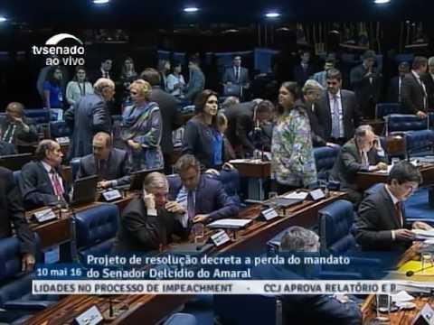 Ao vivo: Senado vota processo de cassação do Senador Delcídio do Amaral