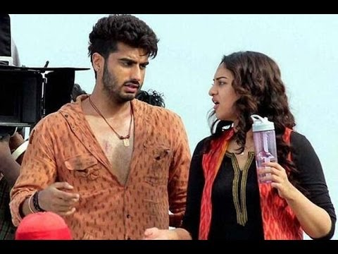 Shooting of Sonakshi Sinha, Arjun Kapoor's 'Tevar' in Agra