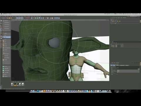 Model a heroic character in Cinema 4D (Part 4)
