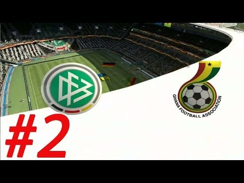 2014 FIFA World Cup - Walkthrough Gameplay Part 2 - Group G -  Germany vs Ghana [ HD ]