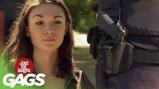 Kradnutie pištole policajtovi