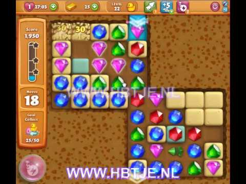 Diamond Digger Saga level 22