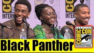 BLACK PANTHER | Comic Con 2017 Marvel Panel, News, & Highlights (Chadwick Boseman, Danai Gurira)