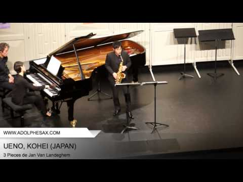 Dinant 2014 – Ueno, Kohei – 3 Pieces by Jan Van Landeghem