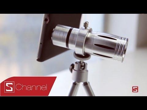 Lens zoom 12x cho Galaxy Note 3