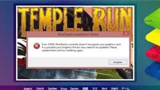 Como Solucionar El Error 25000 En BlueStacks