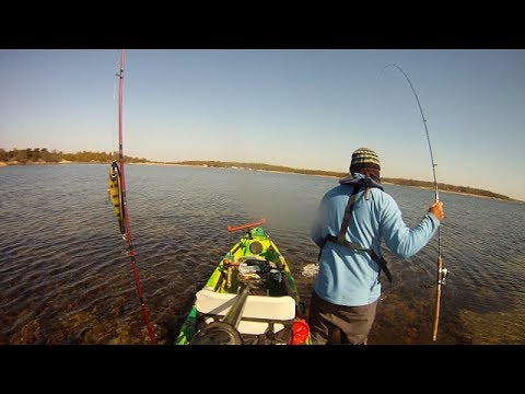 Kayakfishing for pike- JK mission Karlskrona 2014