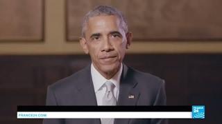 الرئيس الأمريكي السابق أوباما يساند المرشح الفرنسي للرئاسة إيمانويل ماكرون بهذا الفيديو ! |