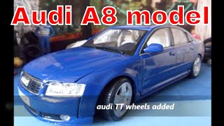 CS.diecast tuning modified tuned Audi A8 1/18 scale model videos