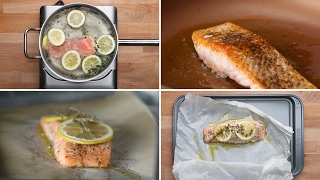 4 Ways To Cook Salmon
