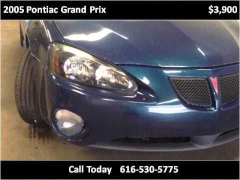 2005 Pontiac Grand Prix Used Cars Grand Rapids MI