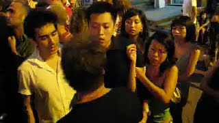 LKF Fight In Hong Kong Lan Kwai Fong Fastest Puncher