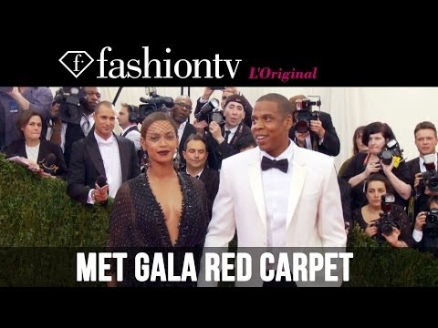 2014 Met Gala: Beyonce & Jay Z, Rihanna, Cara Delevingne, Kanye & Kim K on the Red Carpet |FashionTV