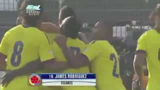 Chile 1-3 Colombia Eliminatorias Sudamericanas Brasil 2014