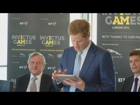 Prince Harry tweets support for Invictus Games