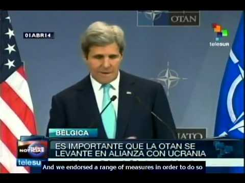 Kerry: NATO must stand in partnership with Ukraine
