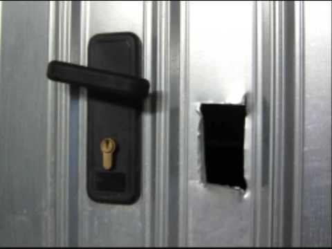 Rinforzare porta garage