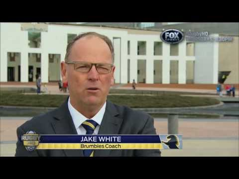 "Brumbies's Jake White tells RugbyHQ, ""I'm an Aussie"" 