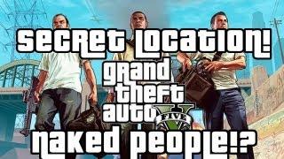 """GTA V """"Secret Location""""! I Naked Village (GTA 5"""
