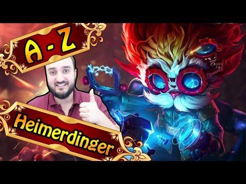 HEIMERDINGER MITTE, funny Canon Champ | League of Legends