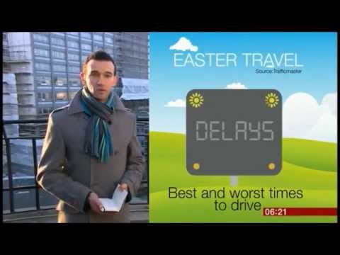 Ben Bland - Easter Travel reports for BBC Breakfast TV