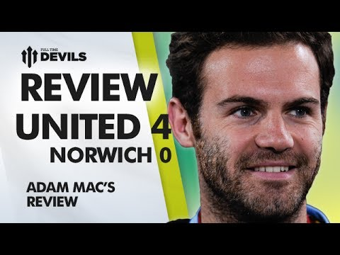 He's Our Pep! | Manchester United 4-0 Norwich City | REVIEW