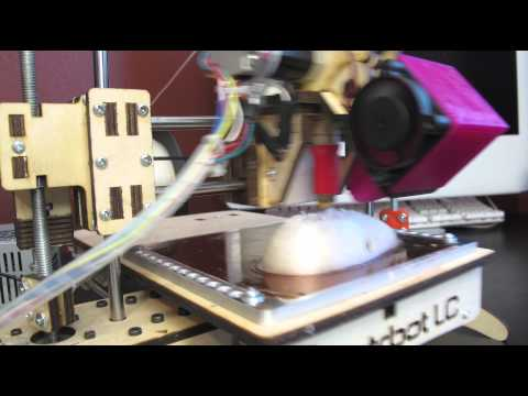 Not all 3D prints are successful.... 4K time lapse