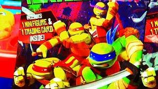 Teenage Mutant Ninja Turtles Surprise Toys Action Figures TMNT Toy Bling Bag Nickelodeon Viacom