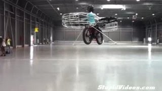 [The Flying Bike] Video